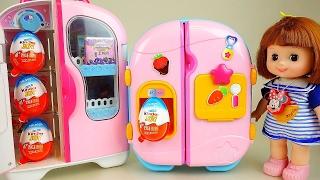 Video Baby Doll refrigerator and Kinder Joy Surprise eggs toys MP3, 3GP, MP4, WEBM, AVI, FLV Agustus 2017