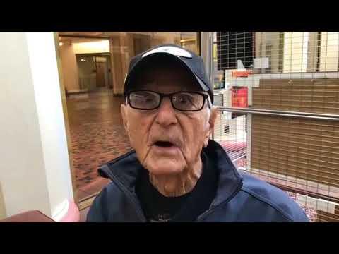 Pearl Harbor survivor William Bonelli