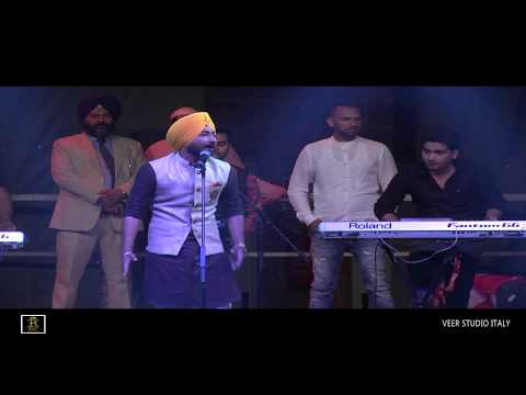 Ranjit Bawa Live In Italy 2016 || FULL HD SHOW || Video By Veer Studios || Ranjeet Bal