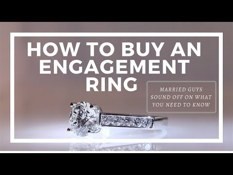 Engagement Ring Shopping: 5 Tips from Married Guys