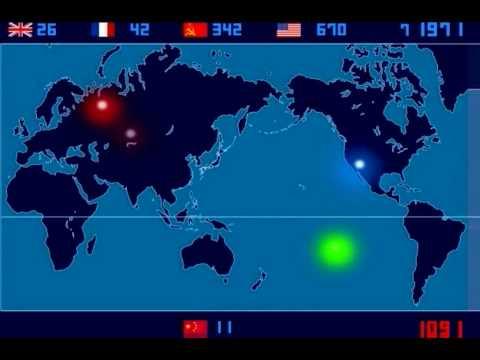 2053 esplosioni nucleari dal '45 al '98, incredibile ma vero!