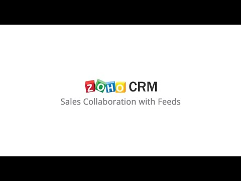 Sales Collaboration with Feeds