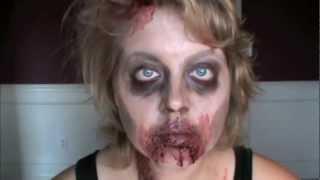 How To Do Zombie Makeup--Tutorial
