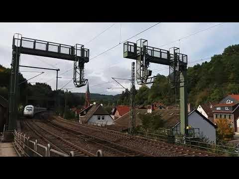 Personeverkehr in der Pfalz (ICE,RB,RE und ein TGV  ...