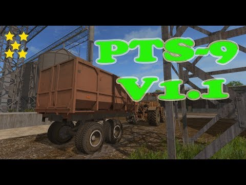 PTS-9 Farming simulator 17 v1.1