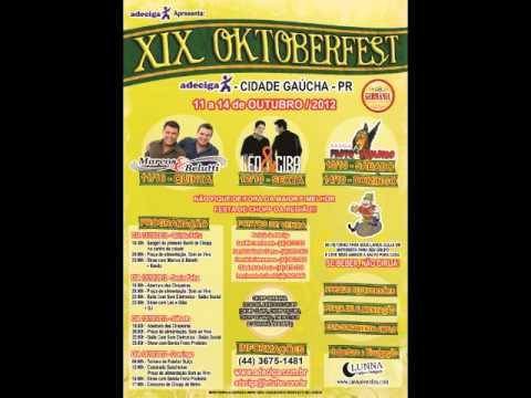 ANUNCIO XIX OKTOBERFEST - 11 A 14 DE OUTUBRO/2012 - CIDADE GAÚCHA - PR - ADECIGA