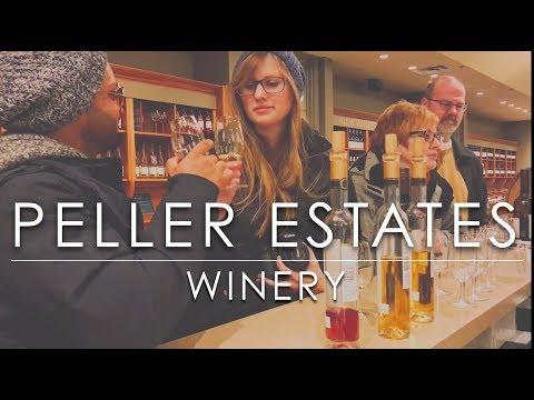 Top Niagara Wineries - Peller Estates Winery - Niagara on the Lake Ontario Canada