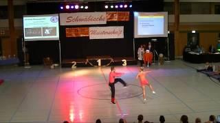 Nicole Kalb & Alexander Kapsalis - Schwäbische Meisterschaft 2013