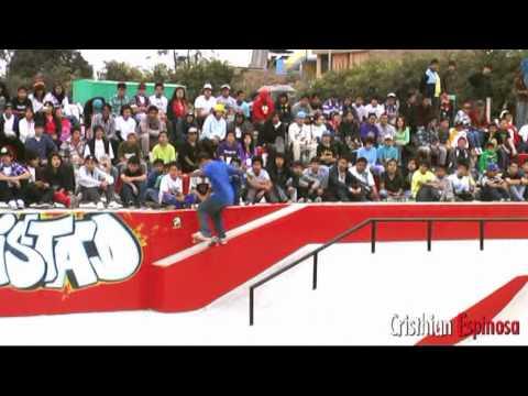 Campeonato en el skatepark de San Martin