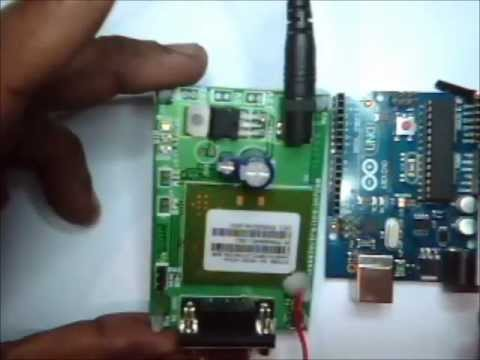 ARDUINO WITH GSM - Making a Call & Sending SMS