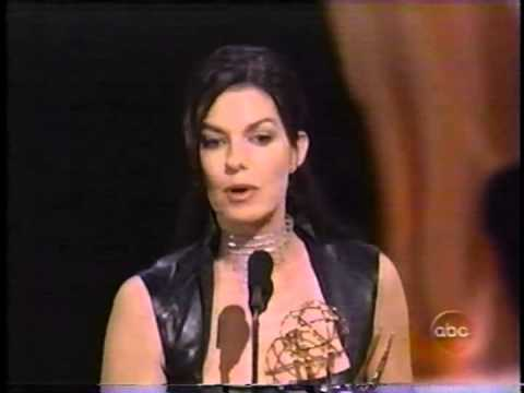 Sela Ward - Sela Ward wins the 2000 Emmy Award for Lead Actress in a Drama Series for her performance as Lily Manning in Once and Again.