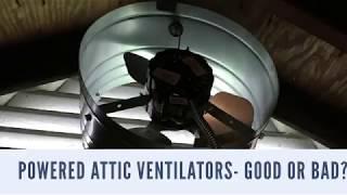 Video Powered Attic Ventilators- Good or Bad? MP3, 3GP, MP4, WEBM, AVI, FLV Juli 2018
