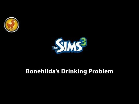 Sims 3 – Bonehilda's drinking problem