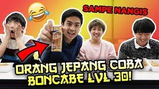 Video REAKSI ORANG JEPANG COBAIN BONCABE LEVEL 30! LOMBA MAKAN! ペヤングとインドネシア辛子早食い対決 MP3, 3GP, MP4, WEBM, AVI, FLV April 2019