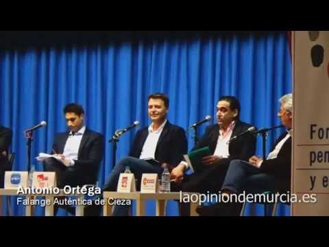 Intervenciones de Antonio Ortega - Falange Auténtica de Cieza