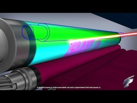 How a Color Laser Printer Works -- Inside an HP® 2600 Toner Cartridge