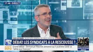 Yves Veyrier sur BFM business