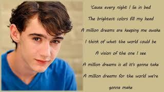 Ziv Zaifman, Hugh Jackman, Michelle Williams - A Million Dreams (Lyrics & Pictures)