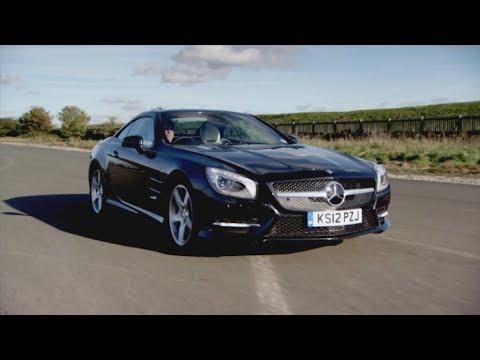 Jason Tests The Mercedes Benz SL Class - Fifth Gear