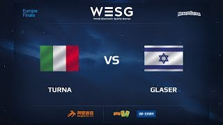 Turna vs Glaser, game 1