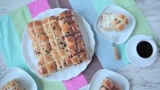 Hot cross buns (brioches de Pâques)