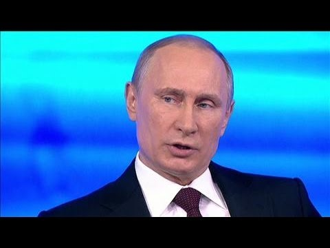 crime - Russian President Vladimir Putin told a live Russian TV show he hopes he doesn't have to send Russian troops into Ukraine but hasn't ruled it out, accusing t...