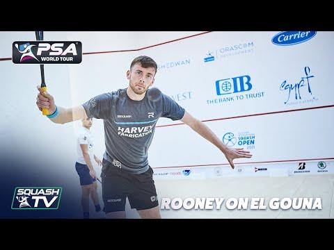 Squash: Patrick Rooney on his Breakthrough El Gouna Performance
