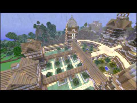 Minecraft Xbox 360 Huge RPG World/Download