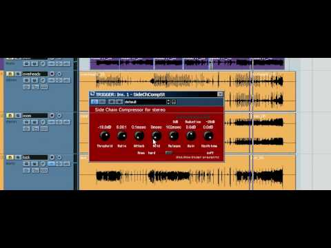 Sidechaining – Kick and Bass – Nuendo 3 and Cubase