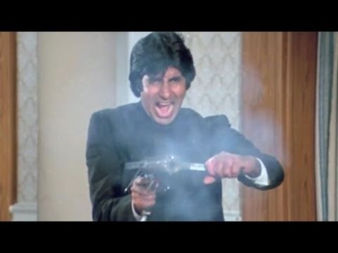 Amitabh Bachchan kills Kader Khan | Inquilaab | Action Scene 20/21