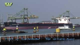 Video Iron ore Bulkship Vale Rio de Janeiro meets Berge Stahl, Port of Rotterdam MP3, 3GP, MP4, WEBM, AVI, FLV Desember 2018