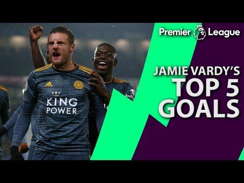 Video: Jamie Vardy's top five Premier League goals for Leicester City | NBC Sports