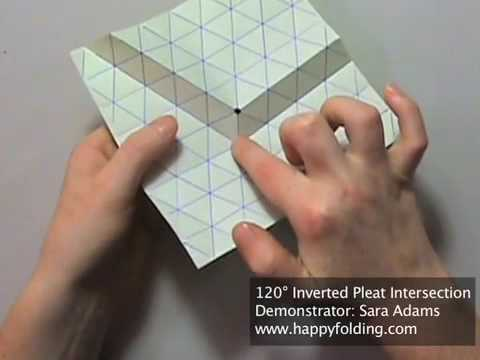 Tip 82 - Tessellation Basics: 120 Degree Inverted Pleat