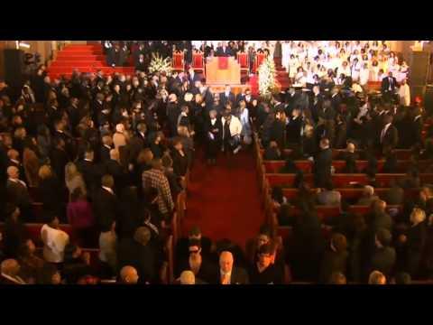 Whitney Houston's Casket Leaves Church (FULL HD) on ''I Will Always Love You''