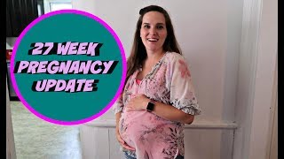 This is my 27 week pregnancy update. This week's symptoms include bleeding gums, baby excessive moving, carrying high, finding it hard to move around and more. Please subscribe to watch our family grow!Our last video: SURVIVING ON 5 HOURS OF SLEEP: https://youtu.be/Fp_q-BUAWkgTwitter: https://twitter.com/itsourwlifeEmily and Will WallaceP.O. Box 323Auburn, NY 13021Pregnancy videos:Twins Birth Vlog: https://youtu.be/cdOwhukYUlQEPIC TWINS GENDER REVEAL: https://youtu.be/qCPSkmyDg2UFamily's Reaction to Twin Announcement: https://youtu.be/rhxV6mc2cswChallenge videos:MY HUSBAND DOES MY MAKEUP CHALLENGE: https://youtu.be/jzNzmfTupKsBEAN BOOZLED JELLY BEAN CHALLENGE: https://youtu.be/vIOcmPyCVegVlog videos:A DAY IN THE LIFE OF A MOM  OF TWO: https://youtu.be/dlUhrvR1P-cHANDING THE CAMERA OVER TO A TWO YEAR OLD: https://youtu.be/49Uzbk13Y8oTODDLER TESTING THE LIMITS AT THE POND: https://youtu.be/ksAQY1sMKnATASTE TESTING A NEW ICE CREAM FLAVOR: https://youtu.be/RAa0pi7q7hQOUR KIDS BEDTIME ROUTINE: https://youtu.be/aDSGbEJfxdQ