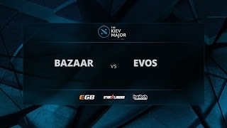 Team Bazaar vs Evos, Game 2, The Kiev Major SEA Open Qualifiers