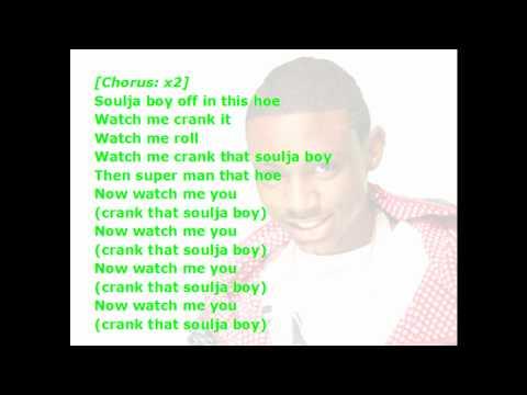 crank dat lyrics