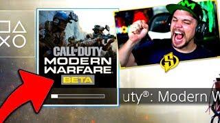 MODERN WARFARE BETA DISPONIBLE !! (Call of Duty MW Beta Multijoueur PS4)
