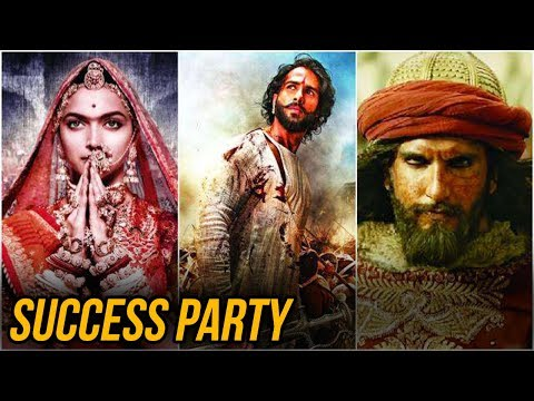 Padmaavat Grand Success Party | Deepika Padukone,