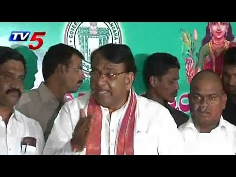 Pocharam Srinivas Reddy Press Meet over Power Allocations : TV5 News