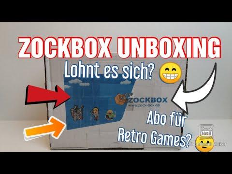 fabios retro ecke Video zu Zockbox