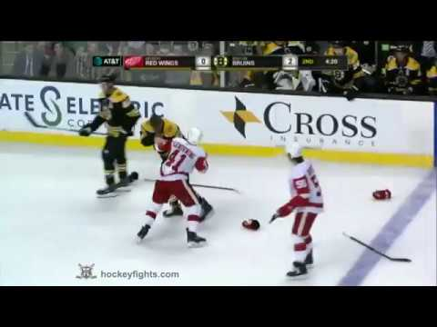 Luke Glendening vs Sean Kuraly Sep 19, 2017 (видео)