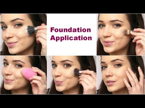 Video Of The Week: Foundation Applications / Removing Glitter Nail Polish
