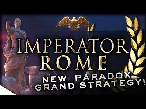 ROMA INVICTA! | Imperator: Rome Reveal — Paradox 2019 Grand Strategy Title & Details from PDXCON (видео)
