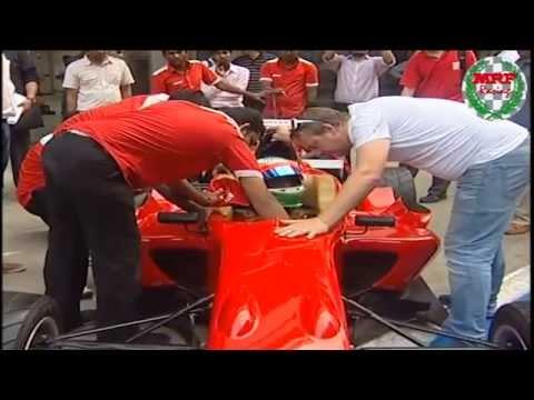 MRF Formula 2000 test drive