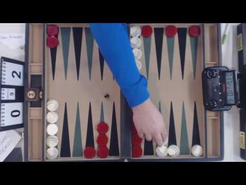 Benjamin Friesen VS Michael Neagu   Chicago Backgammon 2016 Open Main