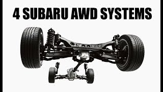 "How All Four Of Subaru's AWD Systems WorkWhat's The Best AWD System - https://youtu.be/jm-_NcjunucSubscribe for new videos every Wednesday! - https://goo.gl/VZstk7Subaru currently has four different AWD systems:1. Viscous Coupling Center Differential AWD2. Active Torque Split AWD3. Variable Torque Distribution AWD4. Driver Controlled Center Differential (DCCD) AWDDescriptions Below From The Following Link:https://www.subaru.ca/WebPage.aspx?WebSiteID=282&WebPageID=59641. Viscous Coupling Center Differential AWD""This system is used for all models equipped with manual transmissions, excluding the WRX STI. It delivers the sporty satisfaction of quick shifts combined with an AWD system that makes the most of the available traction at all times. This system also features an efficient layout with a viscous-coupling limited slip centre differential that maintains a 50/50 front/rear torque split for optimum torque distribution, near neutral handling and surefooted performance.""2. Active Torque Split AWD""This system employs a multi-plate transfer clutch that maintains a 60/40 front/rear torque split and uses a range of sensors to automatically adjust this split on-the-fly as conditions warrant, creating more predictable handling. The system that's linked to all Subaru models (excluding WRX) equipped with the Lineartronic® Continuously Variable Transmission (CVT), the Active Torque Split AWD places the focus on ease of operation, fuel efficiency and reliability.""3. Variable Torque Distribution AWD""Linked to the Sport Lineartronic® CVT and exclusive to the WRX, this AWD system delivers sportier performance and superior efficiency all at once. The centre differential adjusts front/rear torque split from 45/55 in normal conditions (for a sportier rear-biased feel) up to 50/50 when the weather worsens or the road conditions deteriorate (for maximum traction). The viscous self-locking rear differential maintains stability when more torque is sent to the rear wheels, ensuring the perfect balance of control and fun.""4. Driver Controlled Center Differential (DCCD) AWD""As it's a purebred high-performance car, it follows that the Subaru WRX STI would feature the ultimate in high-performance AWD systems. The DCCD allows the driver to adjust the centre differential locking (through one manual and three automatic modes), varying the torque split from 41/59 front/rear to 50/50 to suit the mood and the conditions. The AWD system also includes a helical-type front differential and a TORSEN® rear differential, creating a triple-differential set-up that is completely unique in the industry.""Don't forget to check out my other pages below!Facebook: http://www.facebook.com/engineeringexplainedOfficial Website: http://www.howdoesacarwork.comTwitter: http://www.twitter.com/jasonfenske13Instagram: http://www.instagram.com/engineeringexplainedCar Throttle: https://www.carthrottle.com/user/engineeringexplainedEE Extra: https://www.youtube.com/channel/UCsrY4q8xGPJQbQ8HPQZn6iANEW VIDEO EVERY WEDNESDAY!"