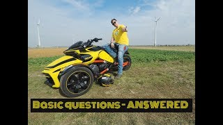 4. Basic Questions - Answered - How it Rides?