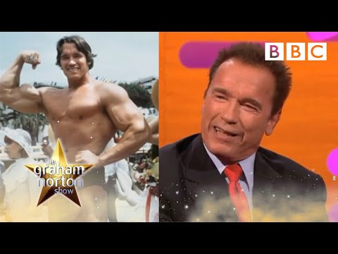 Arnold - http://www.bbc.co.uk/programmes/b01nhchp Graham chats with the guests about their workout routines & Arnold Schwarzenegger's days of bodybuilding.