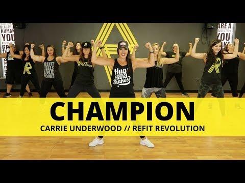 """Champion"" || Carrie Underwood ft. Ludacris || Fitness Choreography || REFIT®️ Revolution"